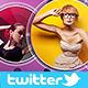 Portfolio Twitter Profile Cover V2 - GraphicRiver Item for Sale