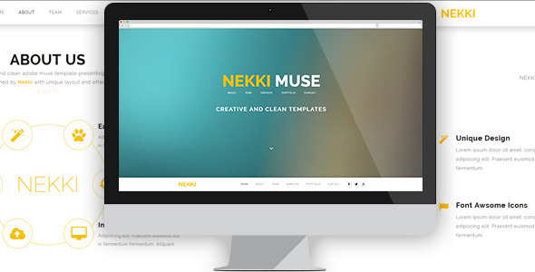 Nekki - Creative Muse Template