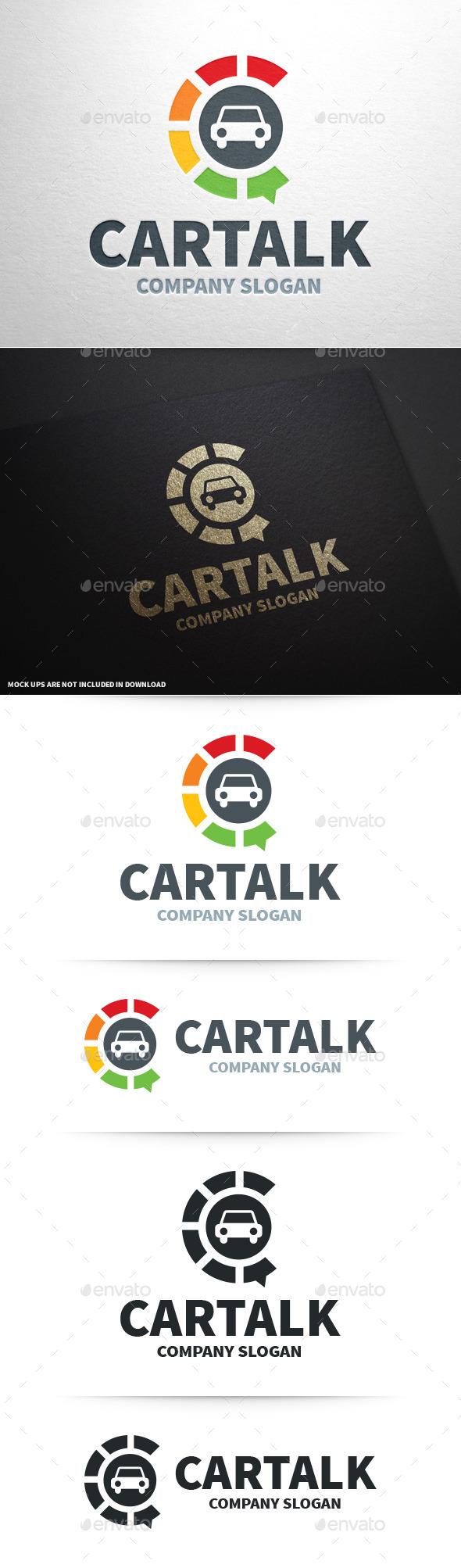 Car Talk Logo Template