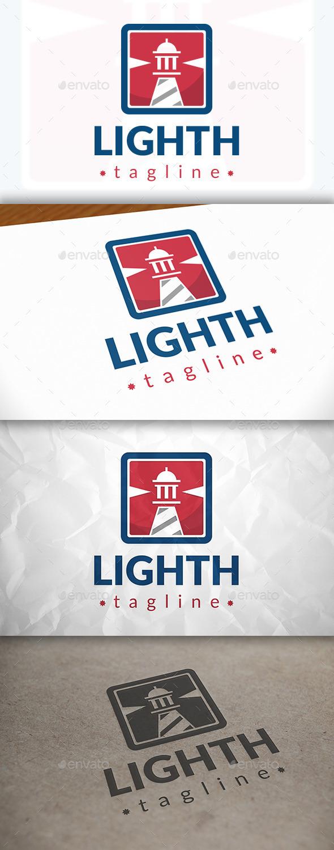 Lighthouse Modern Logo