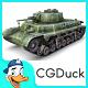40M Turan I Tank - 3DOcean Item for Sale
