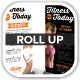 Fitness First Today Health Roll Up Banners - GraphicRiver Item for Sale