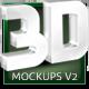 Real 3D Text Mockups V2 - GraphicRiver Item for Sale