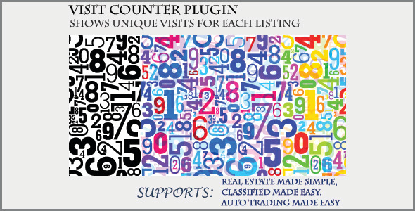 Visit Counter - Classifieds Plugin