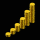 Isometric Gold Coin Pack - VideoHive Item for Sale