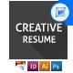 Simple Resume/CV - GraphicRiver Item for Sale