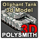 Olifant Mk1B Main Battle Tank - South Africa - 3DOcean Item for Sale