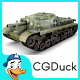 43M Zrinyi II Tank - 3DOcean Item for Sale