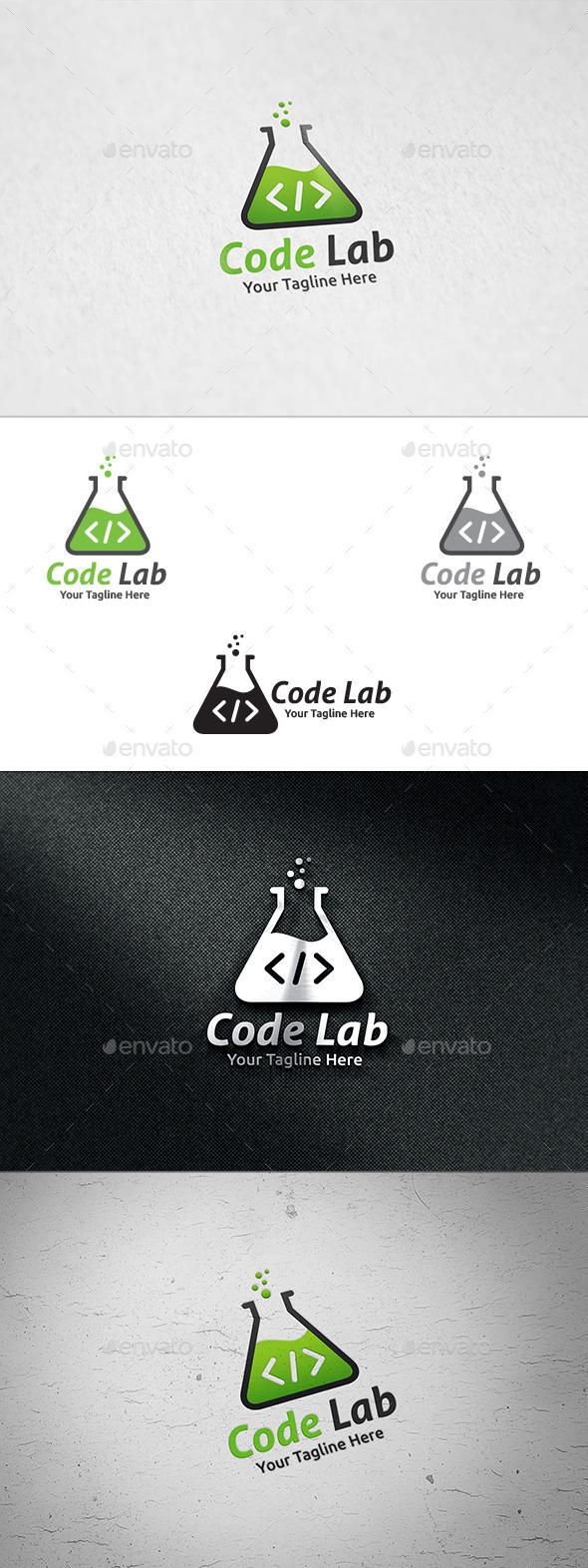 Code Lab - Logo Template