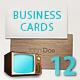 Business Card - Set of Twelve - GraphicRiver Item for Sale