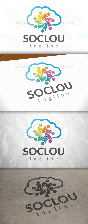 Social Cloud Logo
