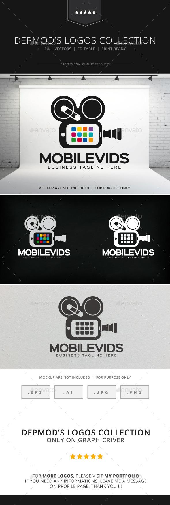 Mobile Vids Logo