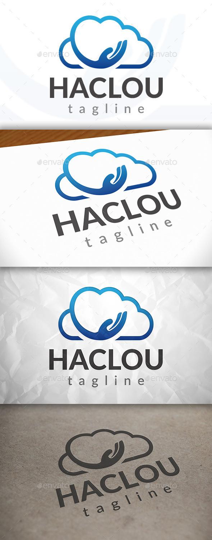 Hand Cloud Logo
