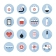 Medical and Health Vector Colourful Icons Set - GraphicRiver Item for Sale