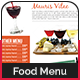 Food Menu Template (8 Pages) - GraphicRiver Item for Sale