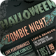Halloween Zombie Night Flyer - GraphicRiver Item for Sale