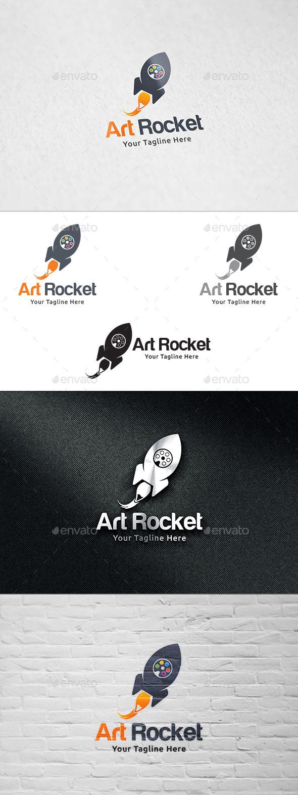 Art Rocket - Logo Design