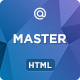 MASTER - Corporate Multipurpose HTML Template - ThemeForest Item for Sale