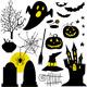 Halloween Set Symbols - GraphicRiver Item for Sale