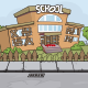 Abandoned School Game Background - GraphicRiver Item for Sale
