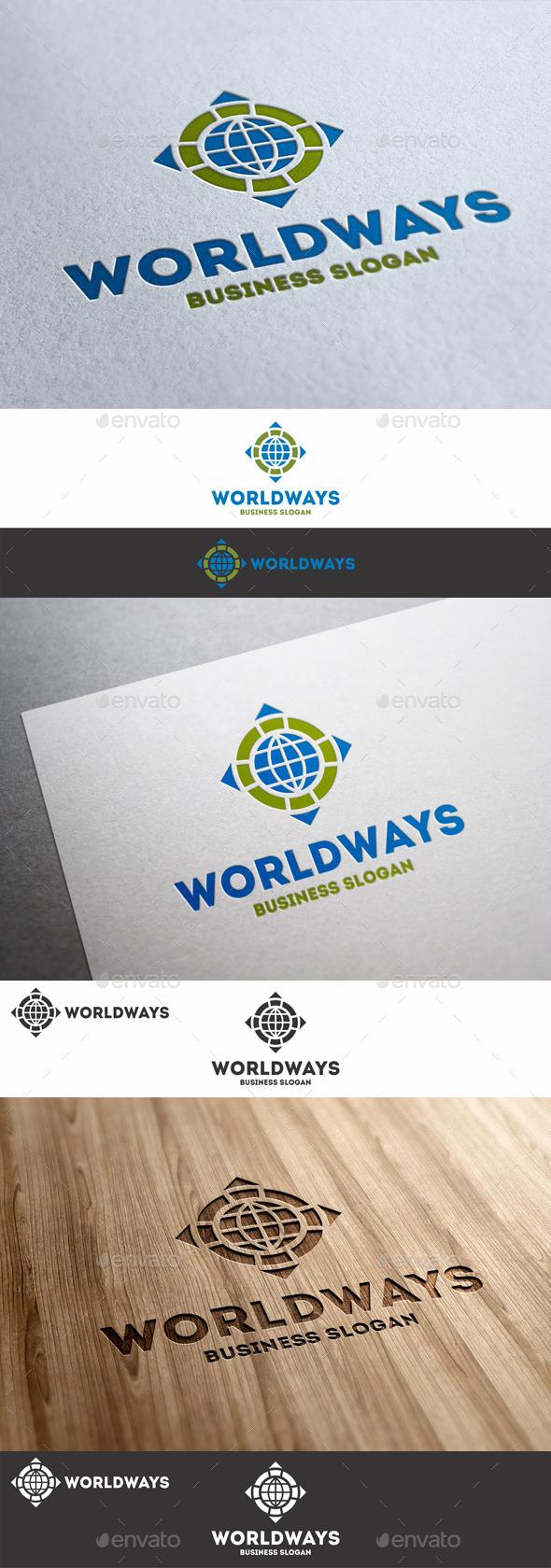 World Ways Directions Logo