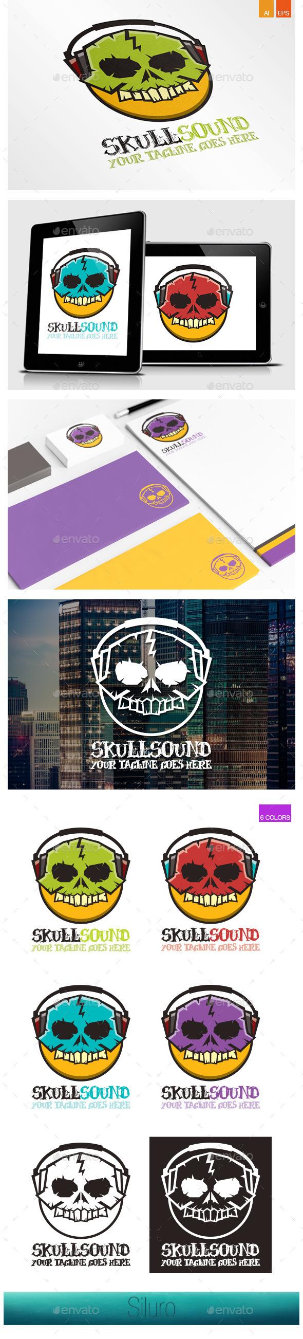 Skull Sound Logo