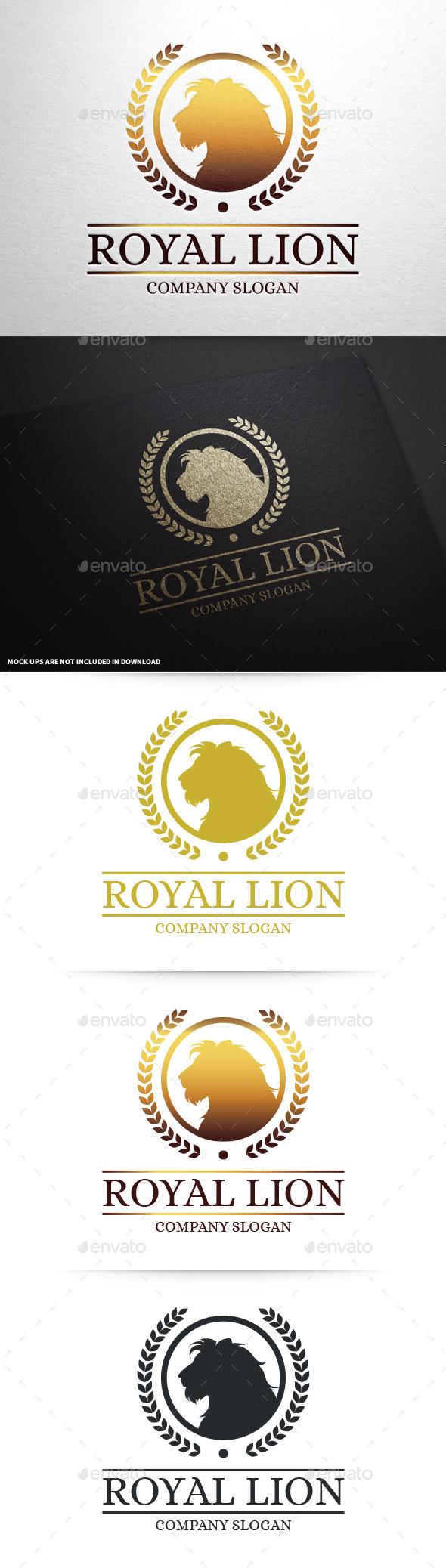 Lion Brand Logo Template