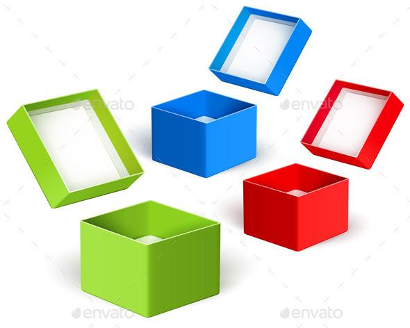 Open Color Boxes