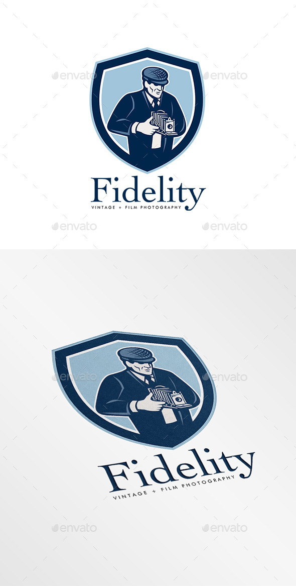 Fidelity Vintage Film Photography Logo