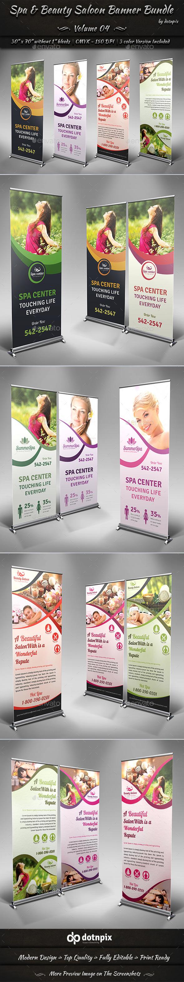 Beauty Salon Banner Graphics Designs Templates