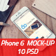 Phone 6 - Photorealistic Mock-Up 2nd Set - GraphicRiver Item for Sale