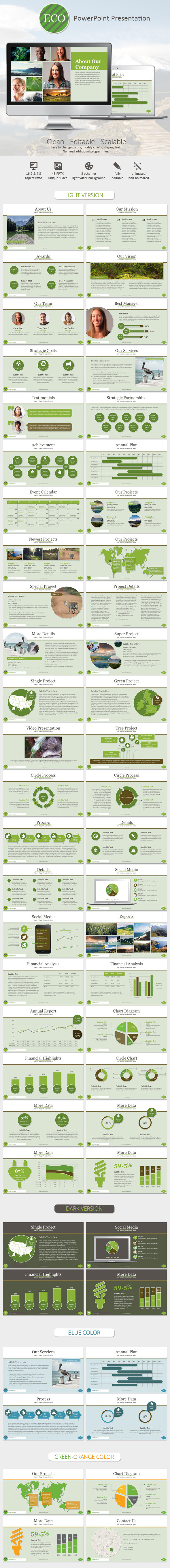 Eco PowerPoint Presentation Template