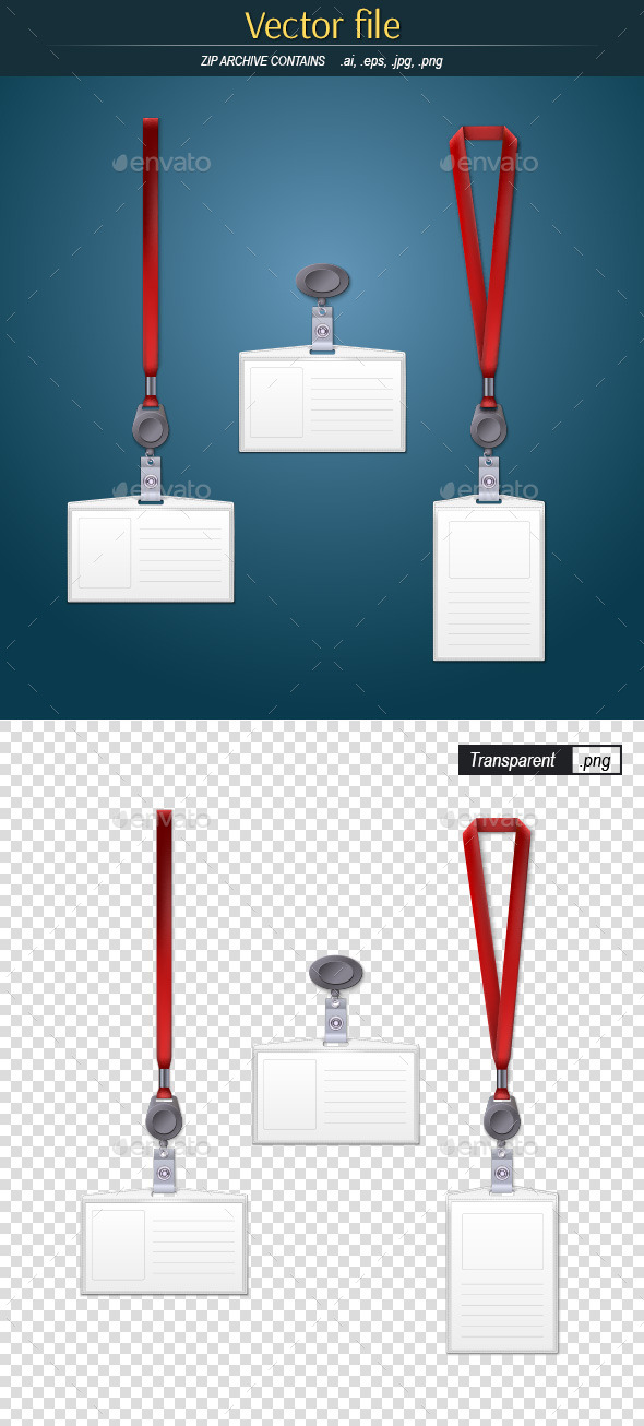 Lanyard Graphics, Designs & Templates from GraphicRiver