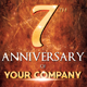 Anniversary Party Flyer & Invitation - GraphicRiver Item for Sale
