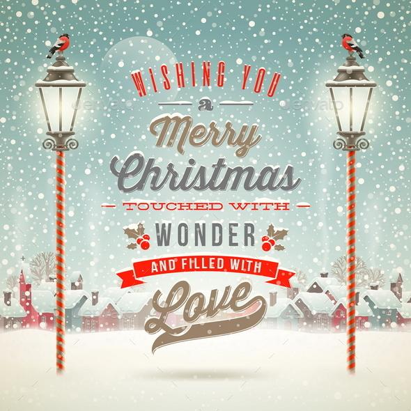 Christmas Greeting Type Design