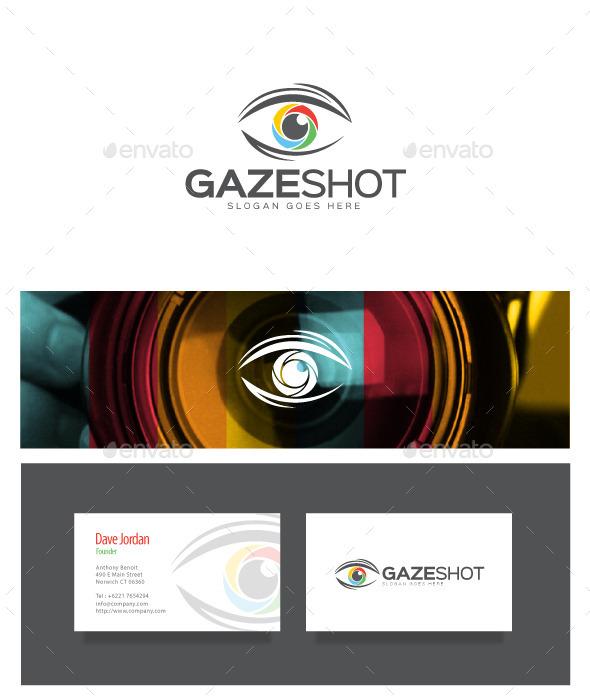 Gaze Shot - Photography Logo