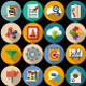 Set of Flat Icon - GraphicRiver Item for Sale