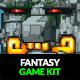 Fantasy Sidescroller Game Kit - GraphicRiver Item for Sale