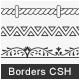 108 Borders Custom Shape - GraphicRiver Item for Sale
