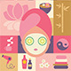 Beauty and Spa Illustrations - GraphicRiver Item for Sale