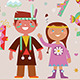 Happy Birthday Illustrations - GraphicRiver Item for Sale