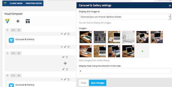 WPBakery Page Builder (formerly Visual Composer) Add-on - Carousel & Gallery Download