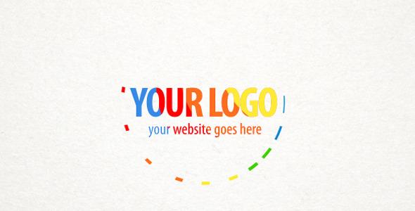 Colorful Stripes Logo Reveal