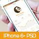 iPhone 6+ Majenga Flat App Design - GraphicRiver Item for Sale