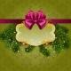 Festive Christmas Background with Frame - GraphicRiver Item for Sale