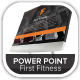 First Fitness Gym & Product Company Presentation - GraphicRiver Item for Sale
