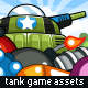 Game Assets for Tank Wars - GraphicRiver Item for Sale