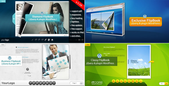 FlipBook Bundle pluginWordPress