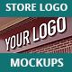 Store Logo Mock Ups - GraphicRiver Item for Sale