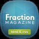 Fraction - Multipurpose News, Magazine HTML - ThemeForest Item for Sale